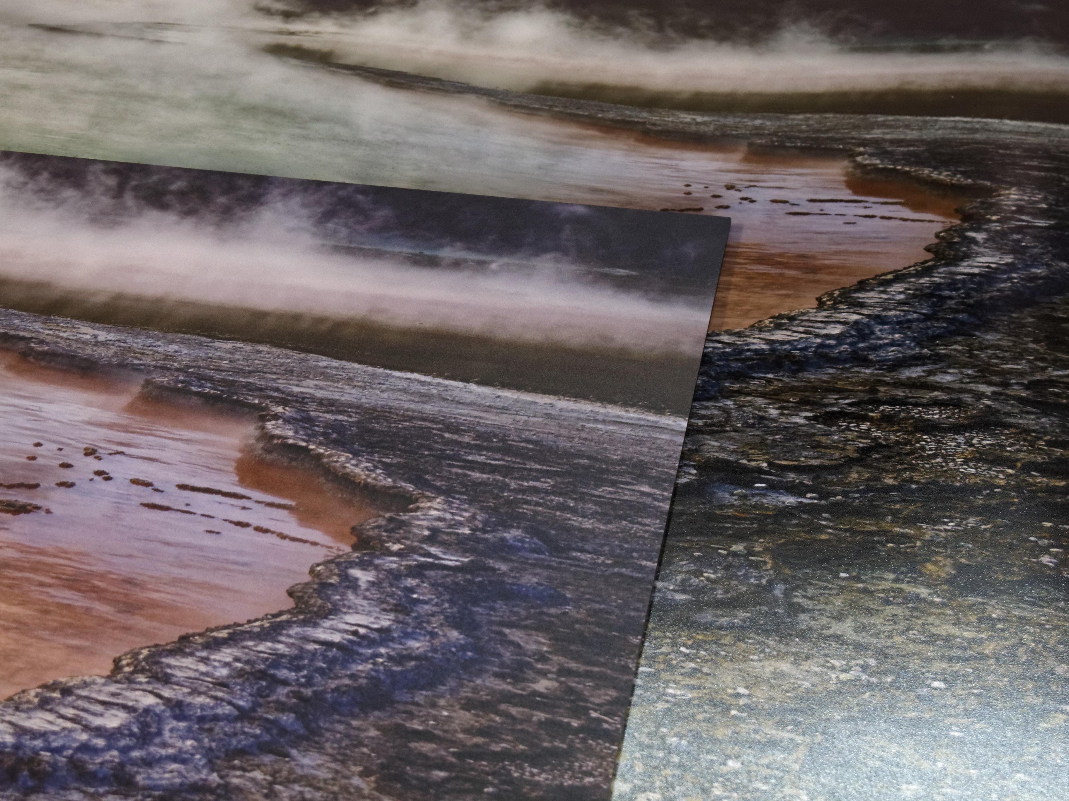 im Vordergrund: Saal-Digital Wandbild