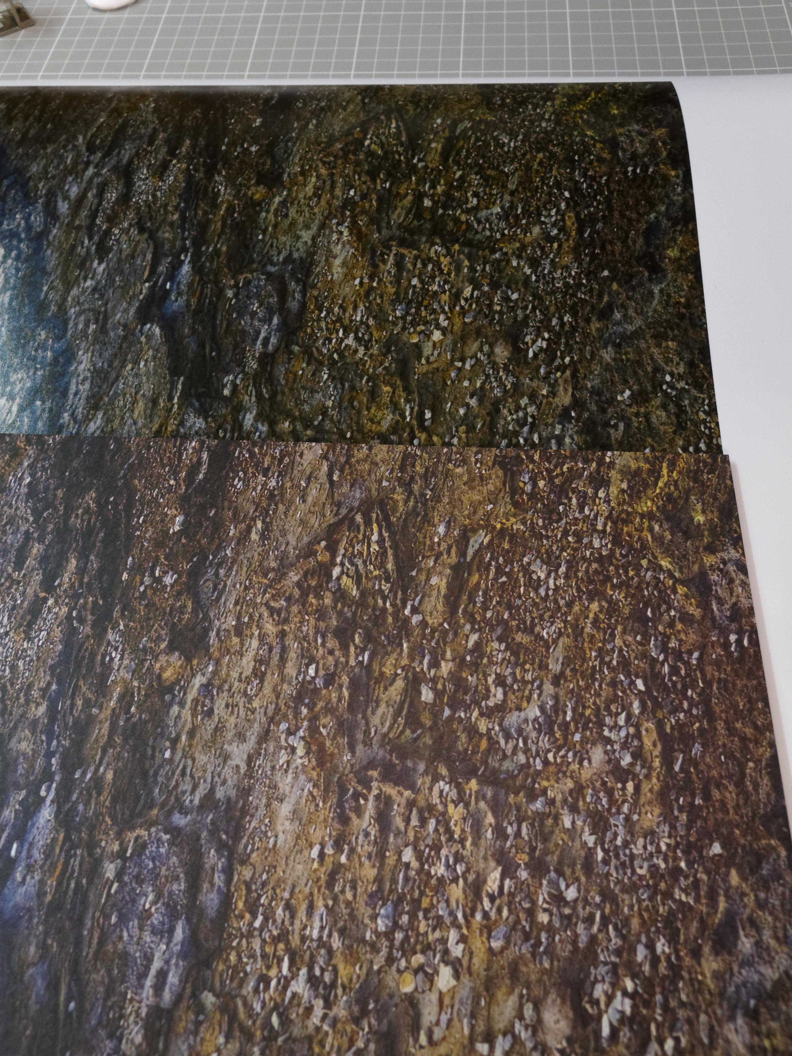 unten: Saal-Digital Wandbild